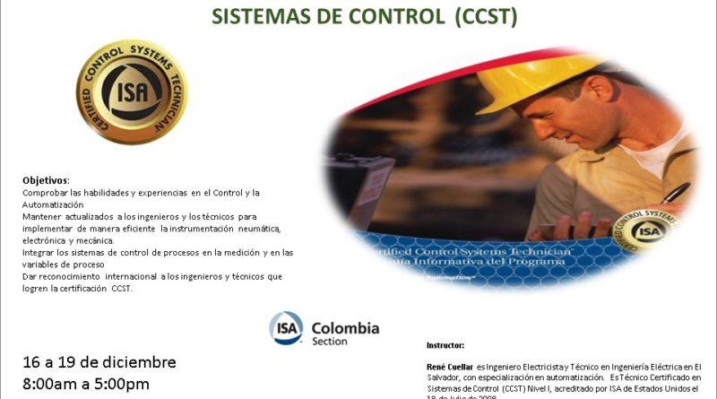 Curso Preparatorio de Técnico Certificado en Sistemas de Control (CCST)