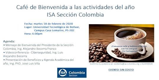 Café de Bienvenida ISA Sección Colombia 2020
