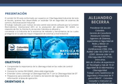 Curso Virtual: Fundamentos de Ciberseguridad Industrial
